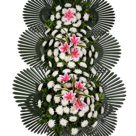 장례식 근조화환 3단 기본형