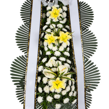 장례식장화환 3단 알뜰형